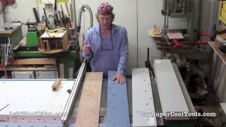 High Auxiliary Fences And Tenoning Jig Intro 1 Of 12