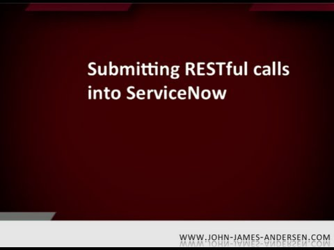 REST tool for ServiceNow APIs