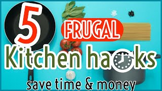 Frugal Living Tips: Save Time AND Money   Cooking Tricks, Tips & Hacks   Eat Well For Less