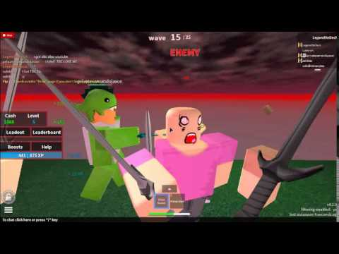 Defend The Frontier Roblox Roblox Defend The Frontier Ep 1 Youtube