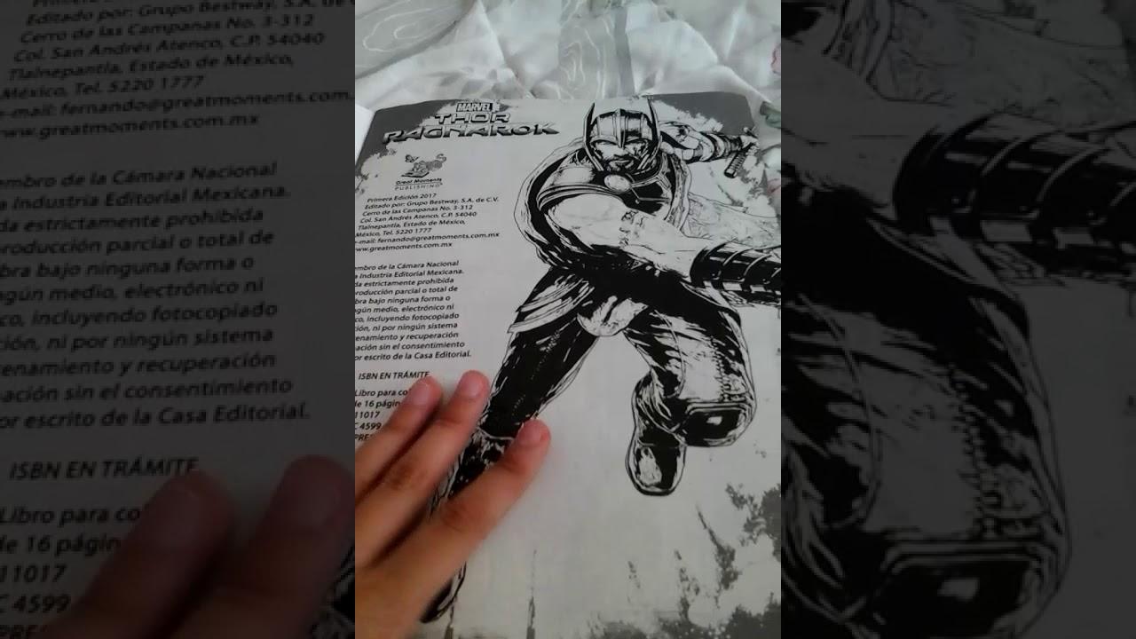 Excelente Thor Para Colorear Libro Cresta - Ideas Para Colorear ...