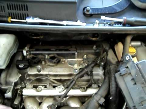 07 Prius Hybrid PCV Hose Location  YouTube