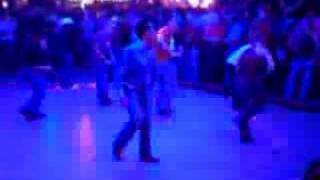 More Line Dancing from the Roundup