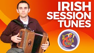 Irish Button Accordion Lesson: Cuts + The Ballydesmond Polka on WWW.OAIM.IE with Dáire Mulhern.
