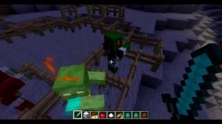 Call of Duty Zombie dans Minecraft !! - More Zombies Mod Minecraft [FR] [HD]