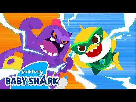 🌏 Baby Shark vs Waste Monster   World Environment Day   Baby Shark Monthly   Baby Shark Official