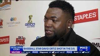 Baseball star David Ortiz shot in the Dominican Republic