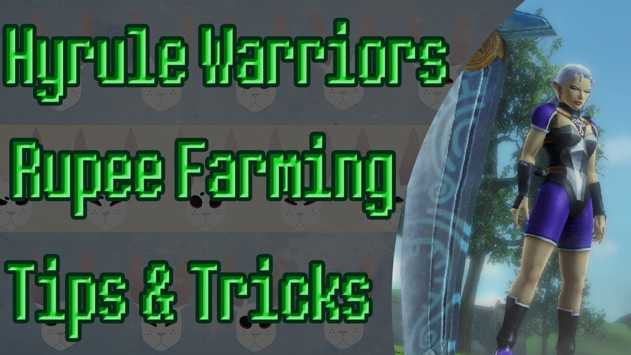 Hyrule Warriors Definitive Edition Rupee Farm Switch Youtube
