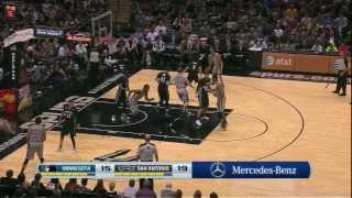 Video Tony Parker & Matt Bonner 2 on 3 play download MP3, 3GP, MP4, WEBM, AVI, FLV Desember 2017