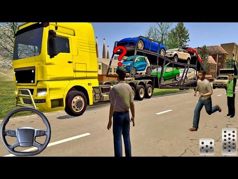 Euro Truck Driver 2018 #48 - Cars Transport! - Truck Games Android Gameplay