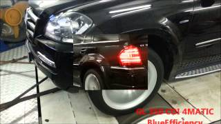 Mercedes GL 350 CDI 4MATIC BlueEfficiency (224Hp). Чип-тюнинг WWW.WINDE.RU