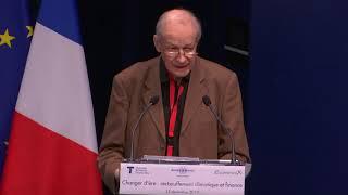 Conférence Changer d'ère - Allocution de Michel Aglietta