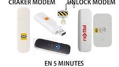DESIMLOCKER OU DEPACKER UNE CLE OU UN MODEM INTERNET EN 2min