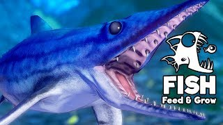 Feed and Grow Fish Gameplay German - Der Ichthyosaurus ist so niedlich