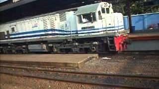 Bangunkarta and Argo Lawu Train..