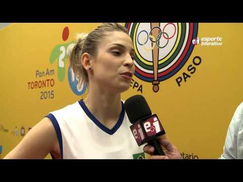 Camila Brait comenta a vitória do Brasil em cima dos EUA, no Pan de Toronto