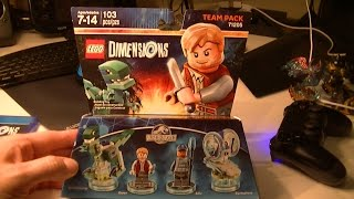 LEGO DIMENSIONS TEAM PACK JURASSIC WORLD UNBOXING AND BUILD