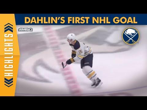 Rasmus Dahlins 1st NHL Goal