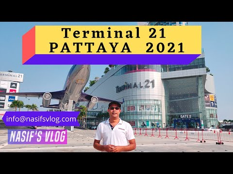 Terminal 21 Pattaya March 2021   Thailand Travel Vlog