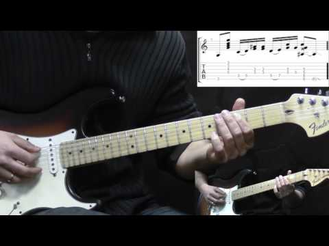 Jimi Hendrix - Castles Made Of Sand - Rock Guitar Lesson (with TABS)