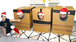 Don't Choose the Wrong Mystery Box Challenge!!!! adel sami les boys tv