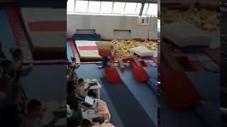 Открытое Первенство Кабардино-Балкарской Республики по спортивной гимнастике. (Опорный прыжок)