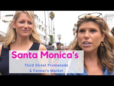 Santa Monica's Farmer's Market &  Promenade