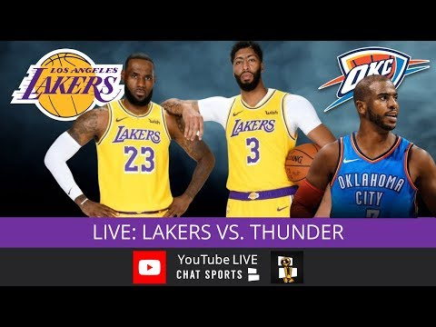 Los Angeles Lakers Vs. OKC Thunder Live Streaming Scoreboard & Live Chat | Lakers' TV Schedule