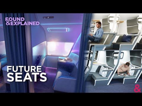 The Aircraft Seats Of Tomorrow - Private Cabins, Bunk Beds And Standing Seats!
