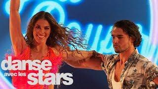 Une samba sous le signe de la fête pour Iris Mittenaere et Anthony Colette – DALS 09