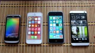 Священная Война: Звонки. Android (HTC One) vs iOS (iPhone 5) ч.1(В связи с новой политикой Google об авторских правах, мне пришлось переписать видео из-за небольшого фрагмента..., 2013-12-26T14:50:04.000Z)