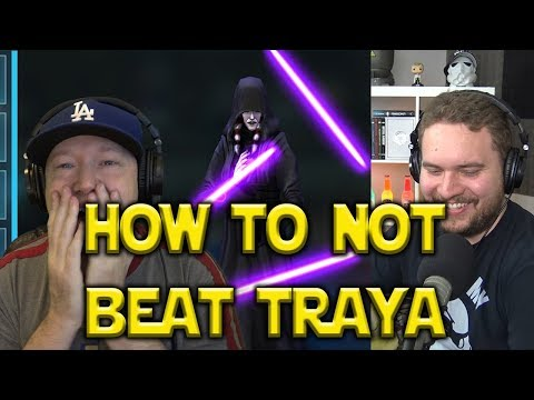 How To Not Beat Traya | Star Wars: Galaxy Of Heroes - SWGoH