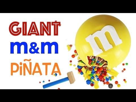 GIANT M&M Pinata