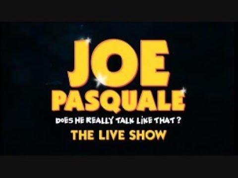 Joe Pasquale - Does He Really Talk Like That The Live Show - (Full Live)