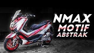 Yamaha NMax Motif Abstrak