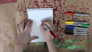 BLIND DRAWING - Cartoon Network Characters