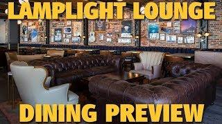 Lamplight Lounge Dining Review   Pixar PIer   Disney California Adventure