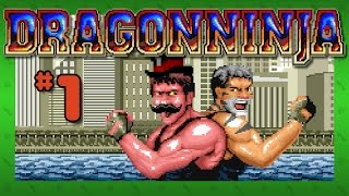BAD DUDES CAN'T JUMP - Dragon Ninja (Amiga): Part 1