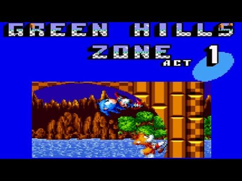 Sonic Mania (PC)- Green HILLS Zone MOD(Sonic 2 MS/GG)[Release]