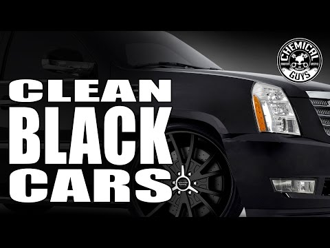 How To Clean And Detail Black Cars - Chemical Guys Car Care