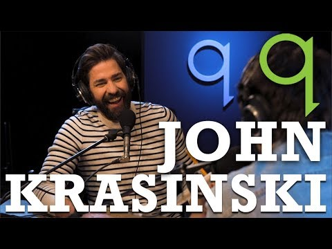 "John Krasinski | you wake up everyday with the idea of  ""am I good enough"""