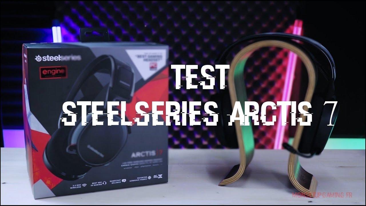 Test Steelseries Arctis 7 Le Meilleur Casque Gamer Sans Fil à Plus