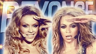 Aleksandra Szwed jako Beyoncé połączone z występem Beyoncé   szopall