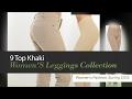 9 Top Khaki Women'S Leggings Collection Women's Fashion, Spring 2035