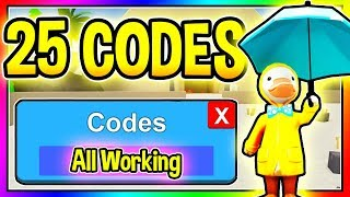 ALL 25 NEW WORKING UNBOXING SIMULATOR CODES - New Bathtub Update/ Roblox