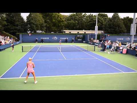 Ver Video de Camila US Open 2013 First Set Camila Giorgi vs Julia Cohen HD 1080p