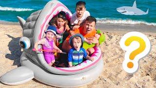 Five Kids Adventure on the beach Children Song