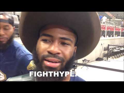 """STEPHEN FULTON SECONDS AFTER CONFRONTING BRANDON FIGUEROA; EXPLAINS WHY """"ONE OF MY EASIEST FIGHTS"""""""