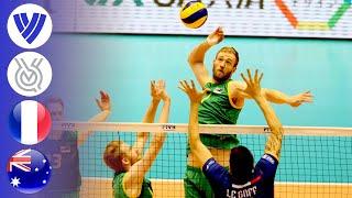France vs. Australia   Men's Volleyball World Olympic Qualifier 2016