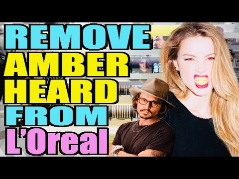 Remove Amber Heard From L'Oreal Petition BEGINS!! - YouTube